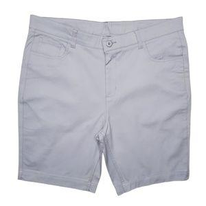 Mens Light Gray Smash Shorts Size 36 NWOT